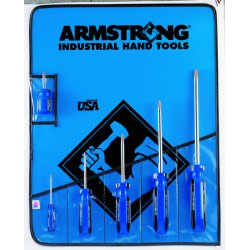 Armstrong Tools - 66-619 - 6-pc Phillips Screwdriveset-armstrong Blue