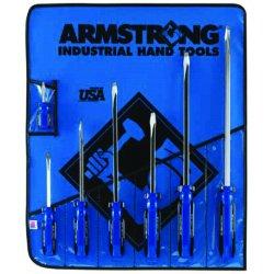 Armstrong Tools - 66-626 - Sq Shank Screwdriver Set7 Tools- Ro