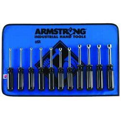 Armstrong Tools - 66-848 - Nut Driver Set- 11 Toolsroll