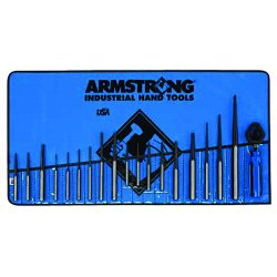 Armstrong Tools - 70-550 - 19 Pc. Punch Set