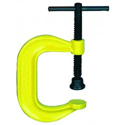 Armstrong Tools - 78-612 - C-clamp Deep Throat Highvisibility Yellow Fini