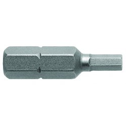 Cooper Tools / Apex - 315-6MM - Metric Socket Head Bits (Pack of 3)