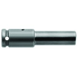 "Cooper Tools / Apex - 838 - 838 Bit Holder 3/8"" Fem Square Drive, 1-1/2""long"