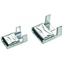 "Band-IT - AE4559 - 47455 5/8"" Clips Stainless Steel Ae4559, Ea"