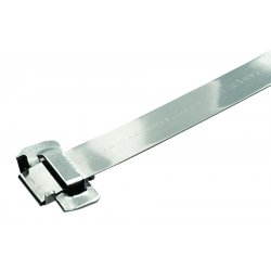 "Band-IT - BFES-A1230-020 - Band-fast W/ear-lokt Buckle 201ss .75""x.03""x20"""