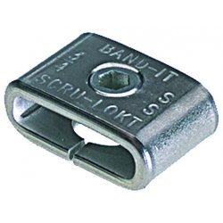 "Band-IT - C72299 - 3/8"" Ss Scru-lokt Buckleedp#13722, Ea"
