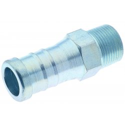 Band-IT - E04099 - 1x1 Plated Carbon Steelhose Nple, Ea