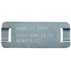 Band-IT - ID1009 - 11100 Type 304 Ss I.d. Tags, Ea