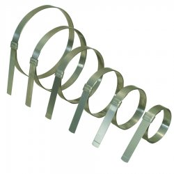 "Band-IT - JS2369 - Jrsmooth Id Clamp 201ss1/2"" X 0.03"" 1-3/4"" Dia"