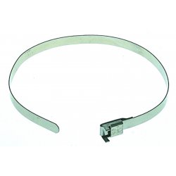 "Band-IT - L20499 - 22204 1/4"" Type 201 Ss Free-end Clamps, Ea"