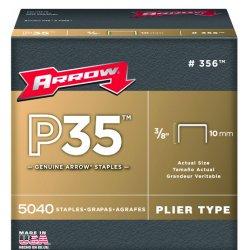 "Arrow Fastener - 356 - 3/8"" Staple For P35 & P35s 5040 Per Box"