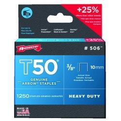 Arrow Fastener - 50824 - (pack/1250) 1/2 In 12mmt50 Gun
