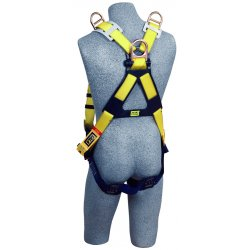 DBI / Sala - 1101254 - Universal Construction, General Industry Full Body Harness, 6000 lb. Tensile Strength, 420 lb. Weigh