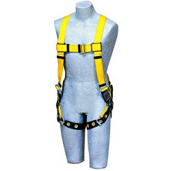 DBI / Sala - 1102000 - Universal Construction, General Industry Full Body Harness, 6000 lb. Tensile Strength, 420 lb. Weigh