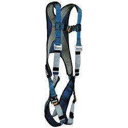DBI / Sala - 1107976 - M General Industry Full Body Harness, 6000 lb. Tensile Strength, 420 lb. Weight Capacity, Blue/Gray