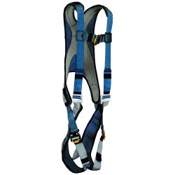 DBI / Sala - 1107981 - XL General Industry Full Body Harness, 6000 lb. Tensile Strength, 420 lb. Weight Capacity, Blue/Gray