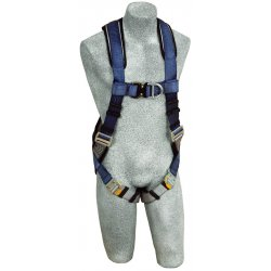 DBI / Sala - 1108527 - L General Industry Full Body Harness, 6000 lb. Tensile Strength, 420 lb. Weight Capacity, Blue/Gray
