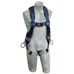 DBI / Sala - 1108576 - M General Industry Full Body Harness, 6000 lb. Tensile Strength, 420 lb. Weight Capacity, Blue/Gray
