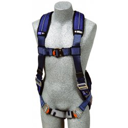 DBI / Sala - 1110101 - M General Industry Full Body Harness, 6000 lb. Tensile Strength, 420 lb. Weight Capacity, Blue/Gray
