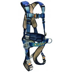 DBI / Sala - 1110151 - M Construction Full Body Harness, 6000 lb. Tensile Strength, 420 lb. Weight Capacity, Blue/Gray