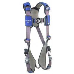 DBI / Sala - 1113007 - L General Industry Full Body Harness, 6000 lb. Tensile Strength, 420 lb. Weight Capacity, Blue