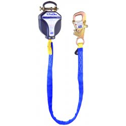 DBI / Sala - 3101300 - 9-1/2 ft. Self-Retracting Lifeline with 310 lb. Weight Capacity, Blue