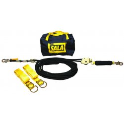 DBI / Sala - 7600506 - Horizontal Lifeline, 60 ft. Length, Temporary Installation, 2 Workers Per System
