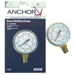 Anchor Brand - B254000 - Anchor 2-1/2x4000 Brassreplacement Gauge