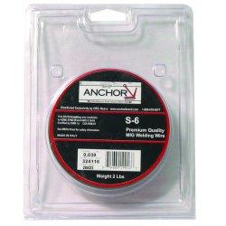 Anchor Brand - ER70S-6-035X2 - Anchor Er70s-6 .035x2 (2# Spool)
