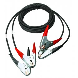 Anchor Brand - JUMPERCABLES-15FT - Anchor 4-15 Cable Kit W/ab-red & Black Clamps