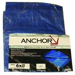 Anchor Brand - 0608 - Anchor 11004 6' X 8' Polyethylene Tarp