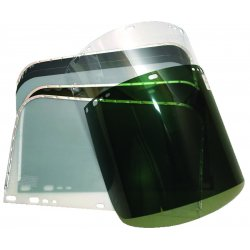 Anchor Brand - 4199-DG - Anchor 9-3/4 X 19 Dark Green Visor For Fibre Met
