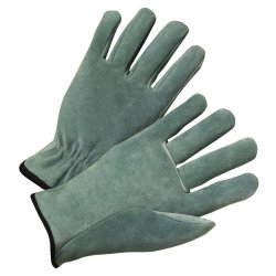 Anchor Brand - 4400S - Anchor 980s Leather Drivers Glove Pearl Gray