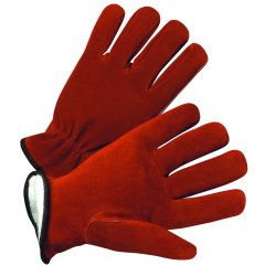Anchor Brand - 4422-L - Driver's Cowhide Gloves - General Protection - Abrasion Resistant - Thinsulate Lining (Pack of 12)