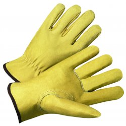 Anchor Brand - 4800M - 4000 Series Pigskin Leather Driver Gloves (Pack of 12)