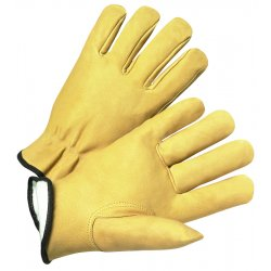 Anchor Brand - 4850XL - Driver's Pigskin Gloves (Pack of 6)
