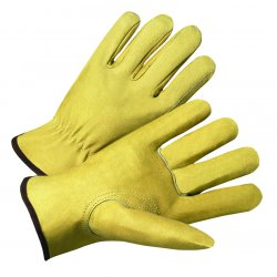 Anchor Brand - 4901L - 4000 Series Pigskin Leather Driver Gloves (Pack of 1)