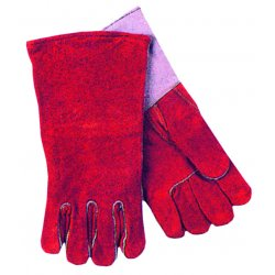 Anchor Brand - 500GC-LHO - Quality Welding Gloves - Full Sock Lining (Pack of 2)