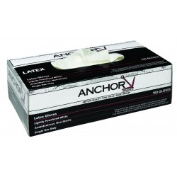 Anchor Brand - 5500I-S - Industrial Grade Latex Disposable Gloves (Pack of 2)