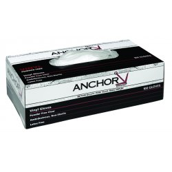 Anchor Brand - 5750-S - Industrial Grade Vinyl Disposable Gloves (Pack of 100)
