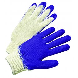 Anchor Brand - 6040 - Anchor Economy Knit Glove Blue Latex Coated