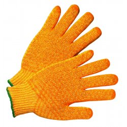 Anchor Brand - 6715-M - PVC Coated String Knit Gloves (Pack of 12)