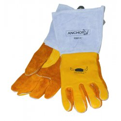 Anchor Brand - 850GC-M - Premium Welding Gloves (Pack of 2)