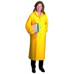 "Anchor Brand - 9010-3XL - Anchor 48"" Raincoat Pvcover Polyester 3xl"