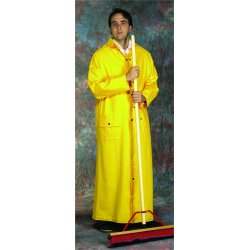 "Anchor Brand - 9020-4XL - Anchor 60"" Raincoat Pvcver Polyester 4xl"
