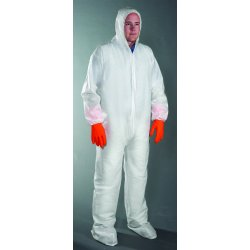 Anchor Brand - 9409-4XL - PE Laminate Protective Coveralls (Case of 25)