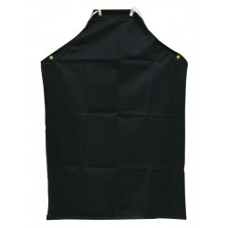 "Anchor Brand - AR-100 - Anchor 45""x35"" Black Hycar Apron W/cloth Backing"