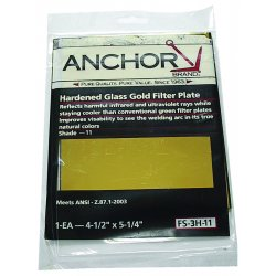 Anchor Brand - 932-458-9 - Anchor Brand 932-458-9 Filter Plate; 4 Inch x 5 Inch, Harden...