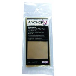 Anchor Brand - GCP-4-10 - Gold Coated Polycarbonate Filter Plates (Each)