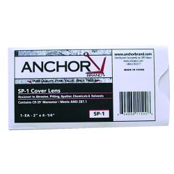 Anchor Brand - SP-25 - ANCHOR SP-25 3X5 COVER LENS 50 (Each)